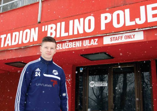Albin Ramljak želi da zaigra u dresu zmajeva