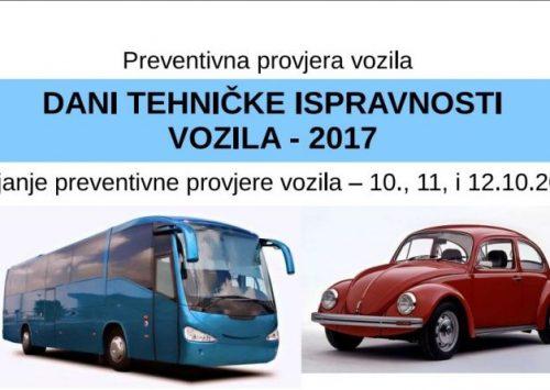 """Počinju """"Dani tehničke ispravnosti vozila 2017"""""""