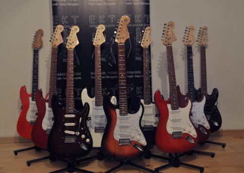 "Edhem Kozar izrađuje gitare po uzoru na čuveni ""Fender Stratocaster"""
