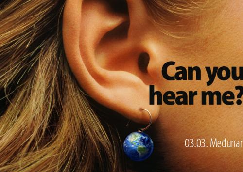 Treći mart – Svjetski dan uha i sluha