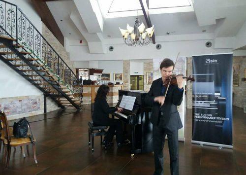 Talentovani violinista iz Zenice