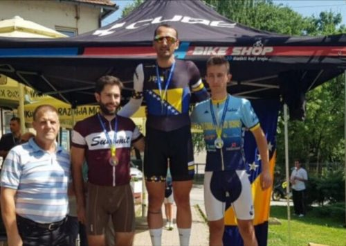 Zeničanin Vedad Karić osvojio titulu državnog prvaka u biciklizmu