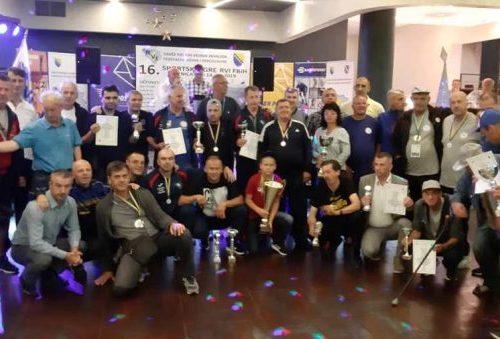 Savez RVI ZDK sveukupni pobjednik 16. Sportskih igara u Zenici