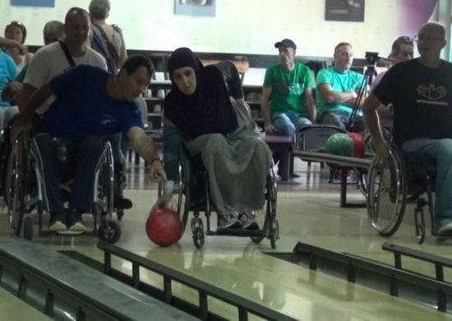 Održan Pokazni turnir u kuglanju za paraplegičare