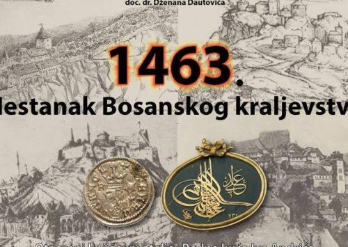 Ciklus predavanja doc. dr. Dženana Dautovića: Nestanak Bosanskog kraljevstva