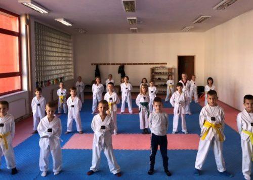 Taekwondo akademija Jale sezonu započela upisom novih članova