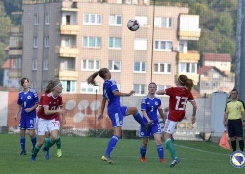 Okupljanje U-17 ženske nogometne reprezentacije BiH u Zenici